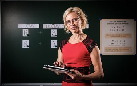 Aira Rahu Häädemeeste Keskkoolist on aasta klassiõpetaja nominent.