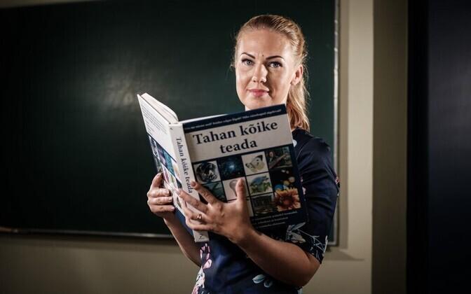 Julia Mägi Rakvere Gümnaasiumist on aasta klassijuhataja nominent.