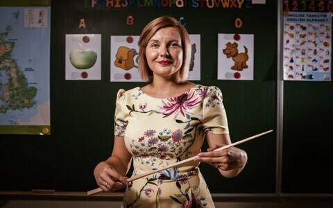 Kadi-Ly Jaansalu Põltsamaa Ühisgümnaasiumist on aasta klassijuhataja nominent.