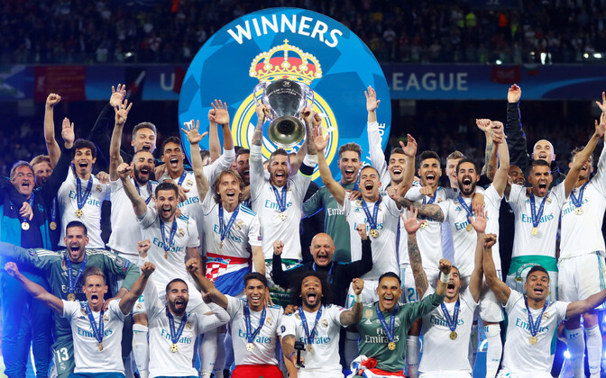 Madridi Real on võitnud Meistrite liiga viimasel kolmel hooajal
