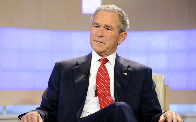 USA president George W. Bush.