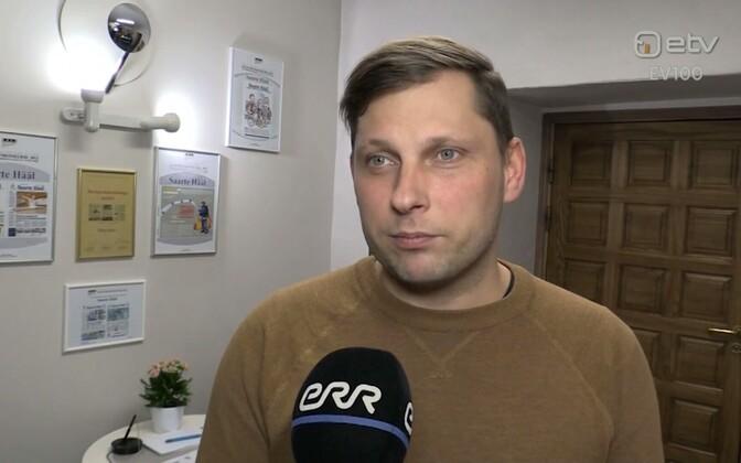 Saarte Hääle peatoimetaja Gunnar Siiner.
