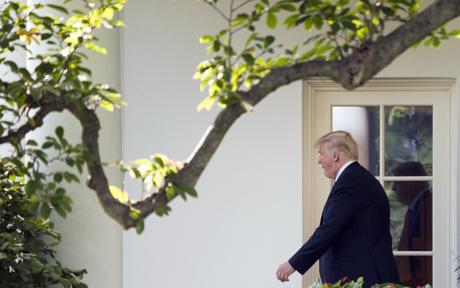 USA president Donald Trump.