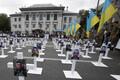 Meeleavaldus Kiievis Vene saatkonna juures seoses Ilovaiski tragöödiaga.