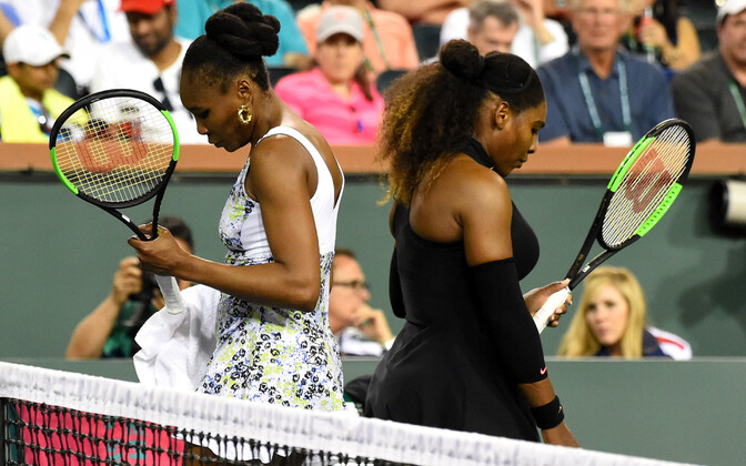 Serena ja Venus Williams Indian Wellsi tenniseturniiril
