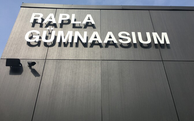 Rapla riigigümnaasiumi avamine.