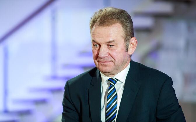 Erik Laidvee, head of state railtrack company Eesti Raudtee.