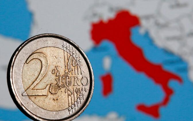 Itaalia ja eurotsoon.