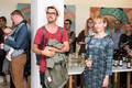 Kunstihoone näituse avamine