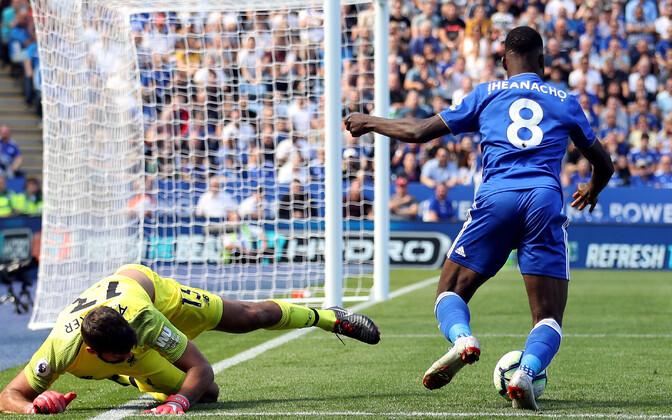 Alissoni eksimus kinkis Leicesterile võimaluse