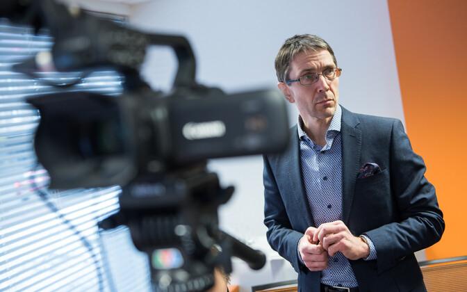 Swedbank Estonia chief economist Tõnu Mertsina.