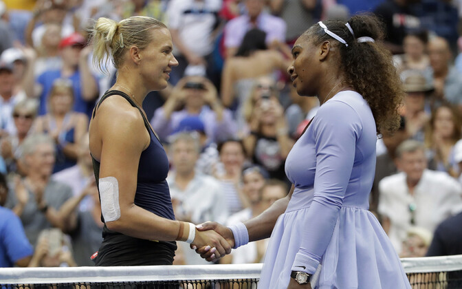 Kaia Kanepi ja Serena Williams
