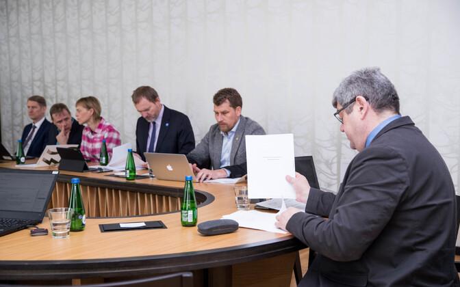 RMK nõukogu koosolek tänavu kevadel.