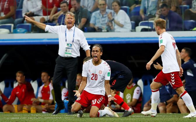 Taani jalgpallikoondis suvisel MM-il