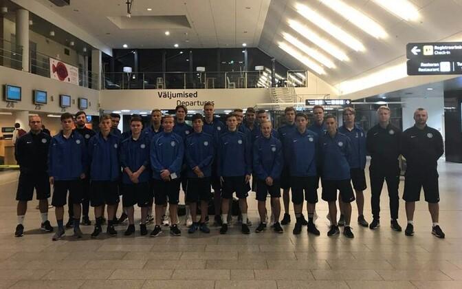 Eesti U-18 noormeeste jalgpallikoondis