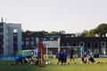 Eesti jalgpallikoondis trennis