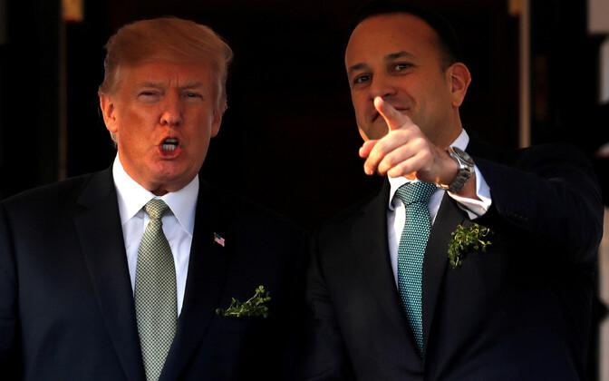 USA president Donald Trump ja Iirimaa peaminister Leo Varadkar tänavu märtsis Valges Majas.