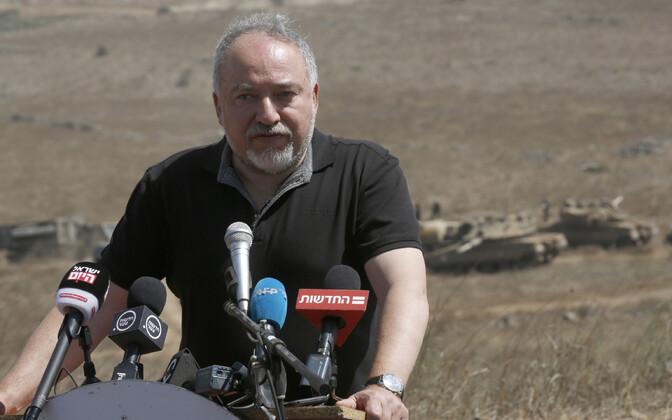 Iisraeli kaitseminister Avigdor Lieberman.