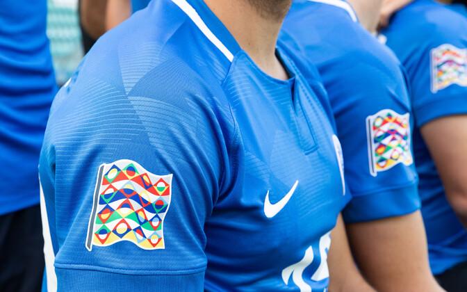 Форма сборной Эстонии для матчей Лиги наций.