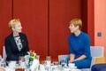 President ja Norra suursaadik Cecilie Annette Willoch.