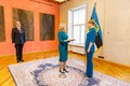 President ja Iirimaa suursaadik Frances Kiernan.