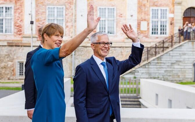 President ja Soome suursaadik Timo Kantola.