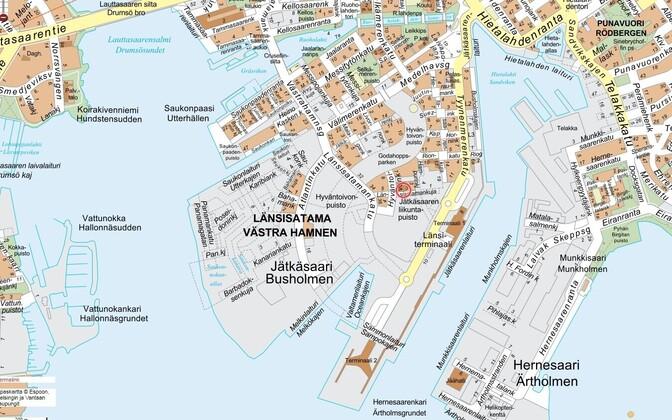 Jätkäsaari.