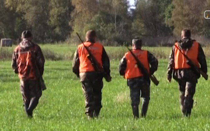 Hunters in Estonia (picture is illustrative).