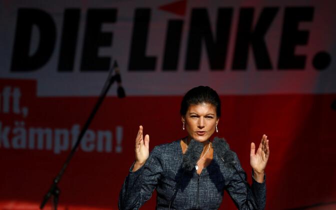 Die Linke liider Sahra Wagenknecht.
