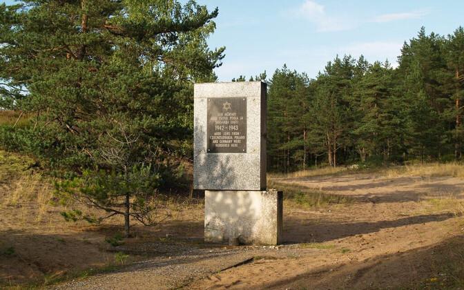 Kalevi-Liiva memorial site.