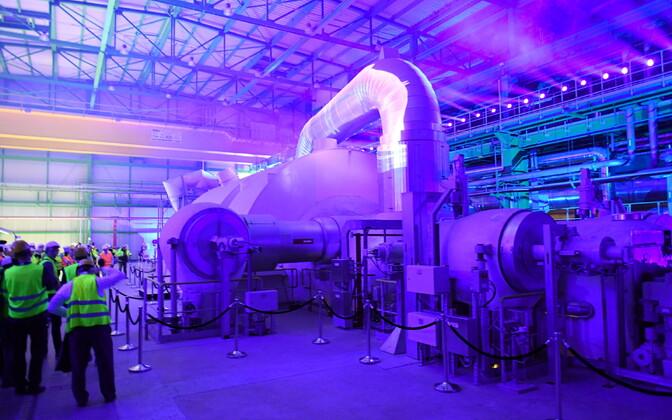 Auvere elektrijaama avamine