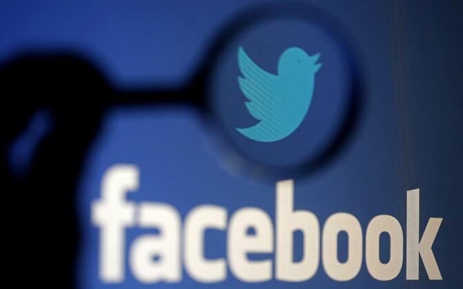 Facebook ja Twitter.