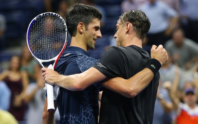 Novak Djokovic ja John Millman