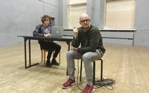 Henri Hütt (vasakul) ja Veiko Tubin.