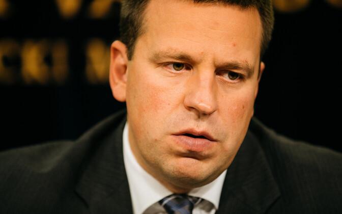 Estonian Prime Minister Jüri Ratas-