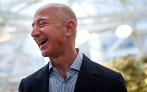 Amazoni juht Jeff Bezos.
