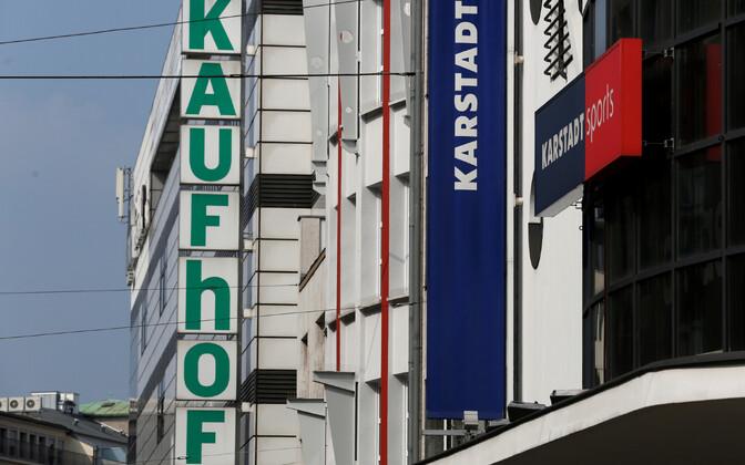 Karstadt ja Kaufhof.