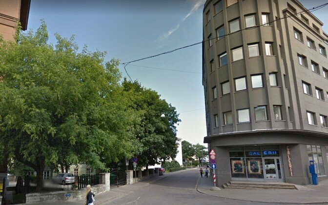 Улица Харидузе в Таллинне.