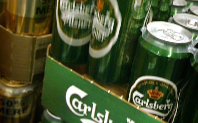 Carlsbergi õllepurgid.