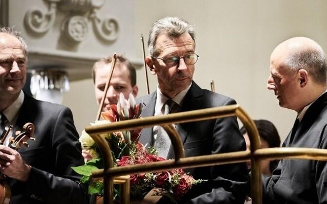 Erkki-Sven Tüüri 9. Sümfoonia esiettekandel.