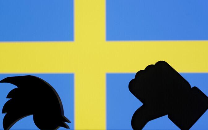 Rootsi valimised ja sotsiaalmeedia.