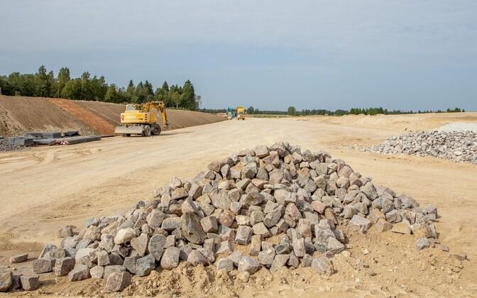 В окрестностях Таллинна запасов высококачественного известняка хватит на три года.