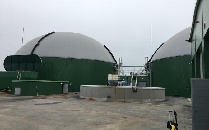 Viljandimaal avati Baltimaade esimene põllumajandusliku biometaani jaam