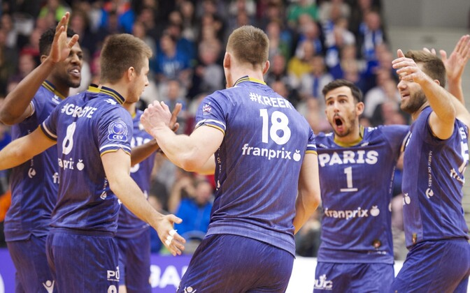Ardo Kreek ja Pariisi Volley