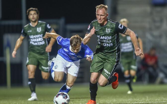 Rauno Sappinen mängus RKC vastu.