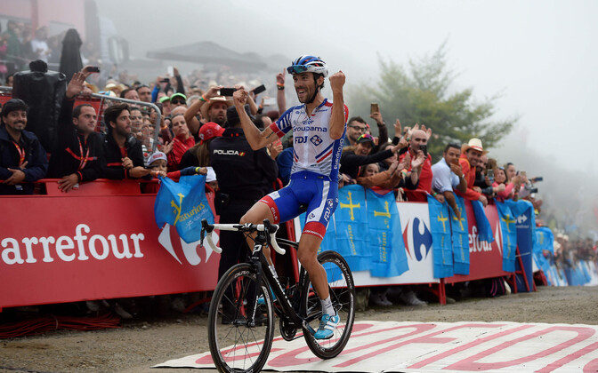 Thibaut Pinot võitis Hispaania velotuuri 15. etapi