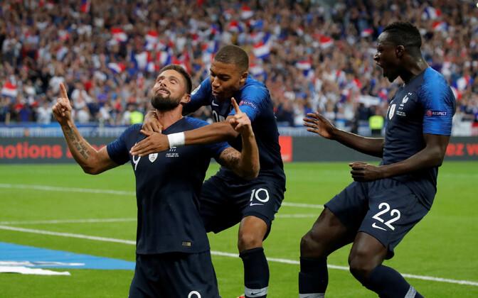 Prantsusmaa jalgpallikoondis