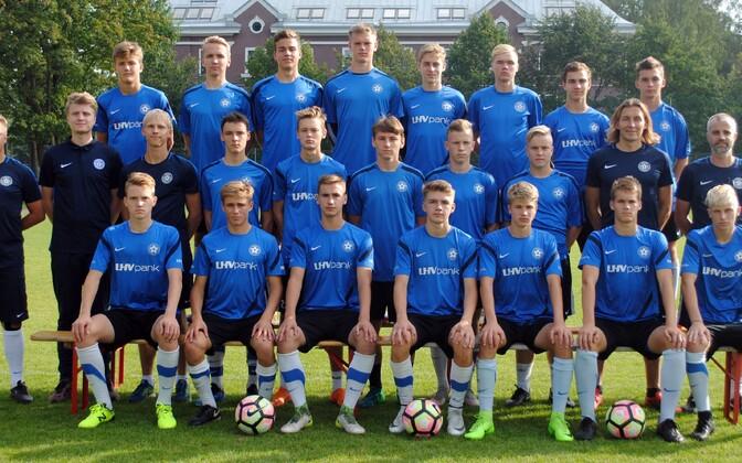 Eesti kuni 17-aastaste jalgpallikoondis