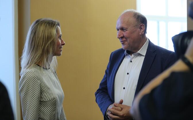 Kaja Kallas ja Mart Helme
