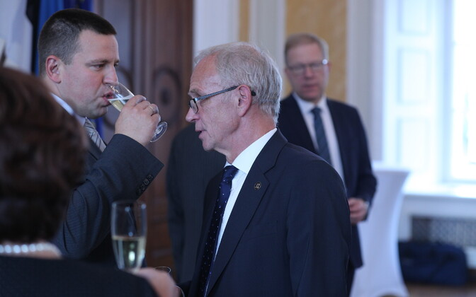 Jüri Ratas ja Eiki Nestor.